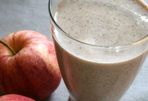 smoothie de pomme protéiné